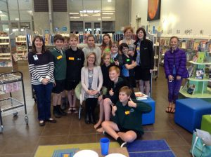 The gang at Papamoa Library tween book group